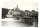 Bad Tölz, alte Isarbrücke, um 1938