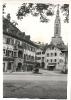 Bad Tölz, Altstadt, im Hintergrund der Turm der Stadtpfarrkirche Maria Himmelfahrt, um 1938